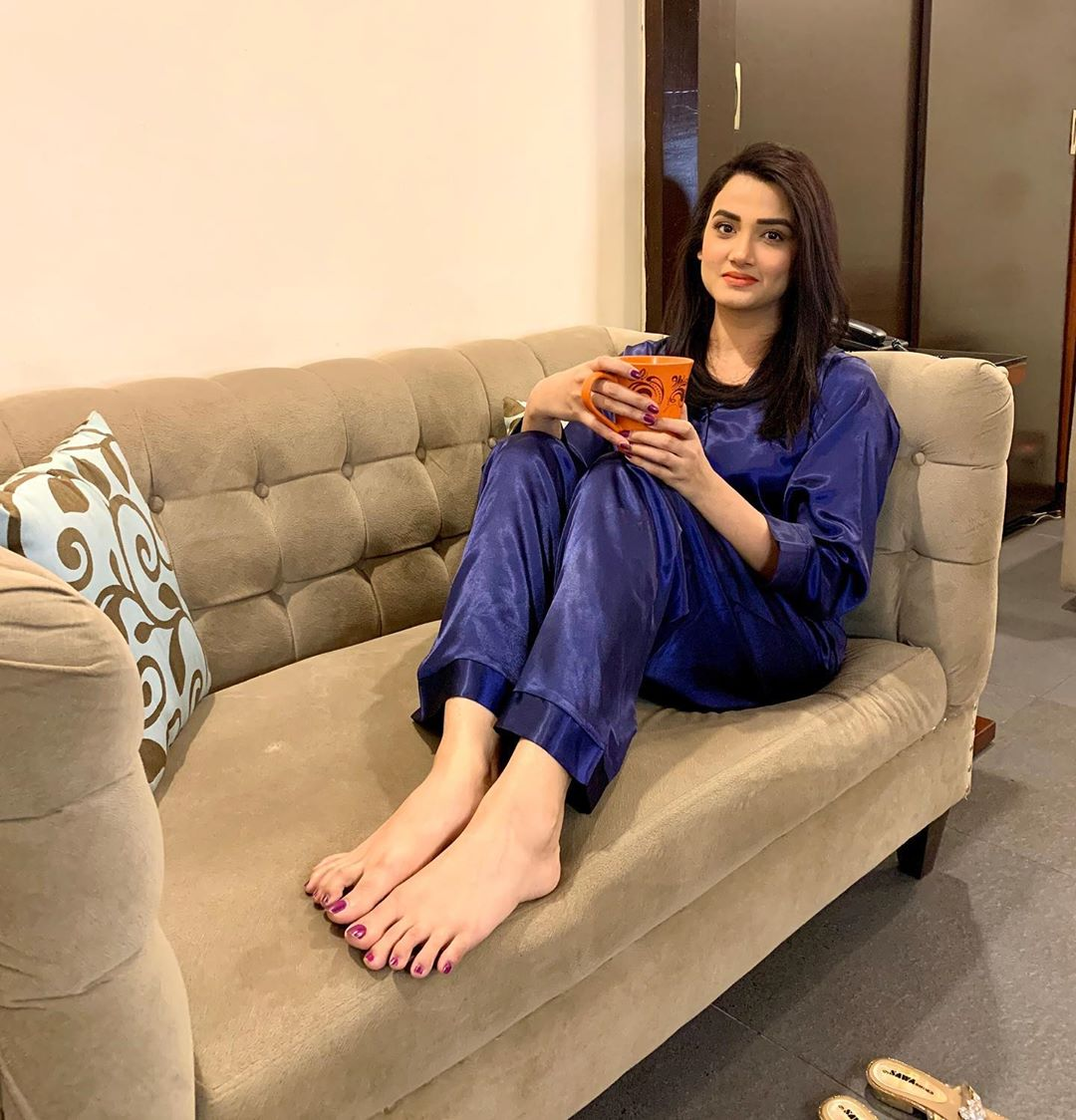 Pakistani Celebrities Pictures from Lock Down Day 15 21