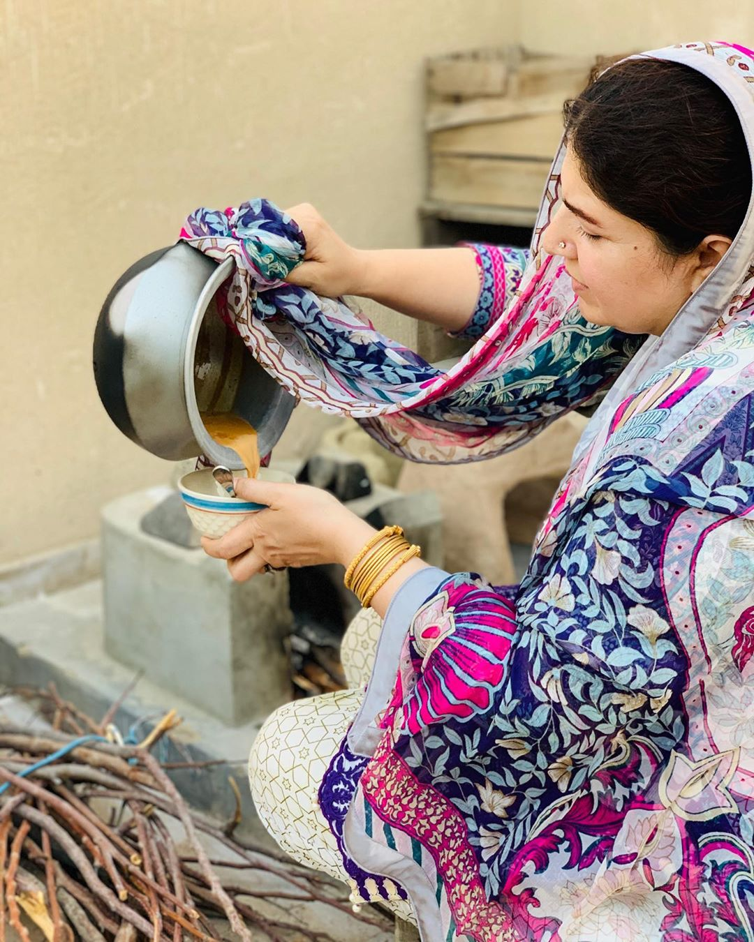 Shagufta Ejaz at her Rooftop Village - Beautiful Pictures