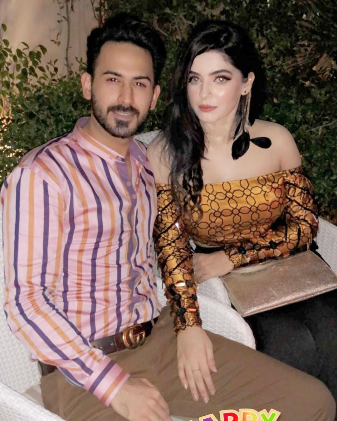 Actor Shan Baig with his Wife Michelle - 10 Lovely Pictures