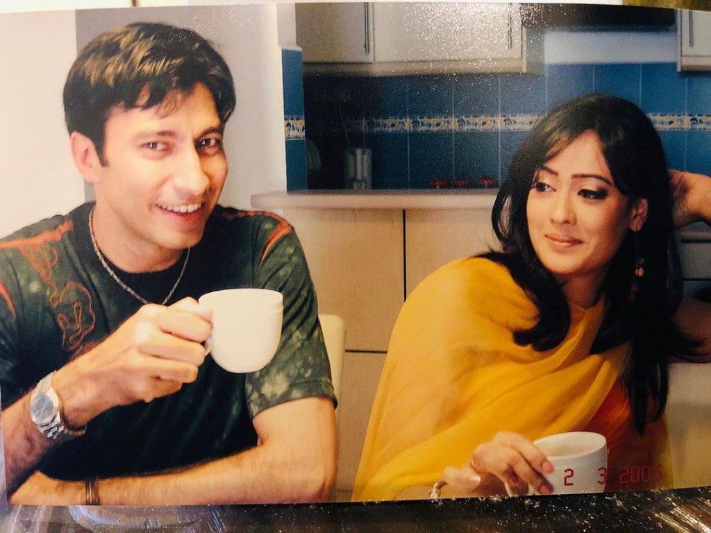 Aijaz Aslam Shares Nostalgic Throwback Picture With Indian Actress