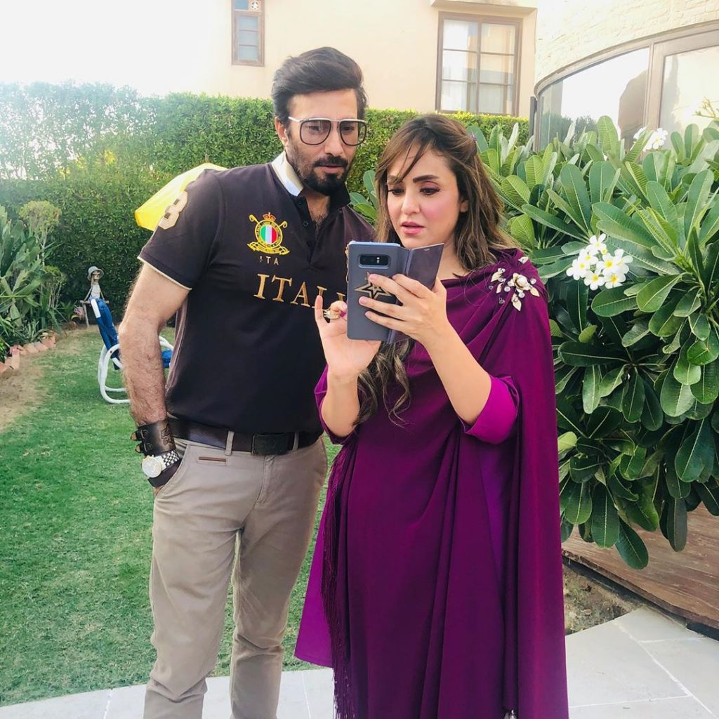 Aijaz Aslam And Amna Ilyas To Appear In A Serial For The First Time