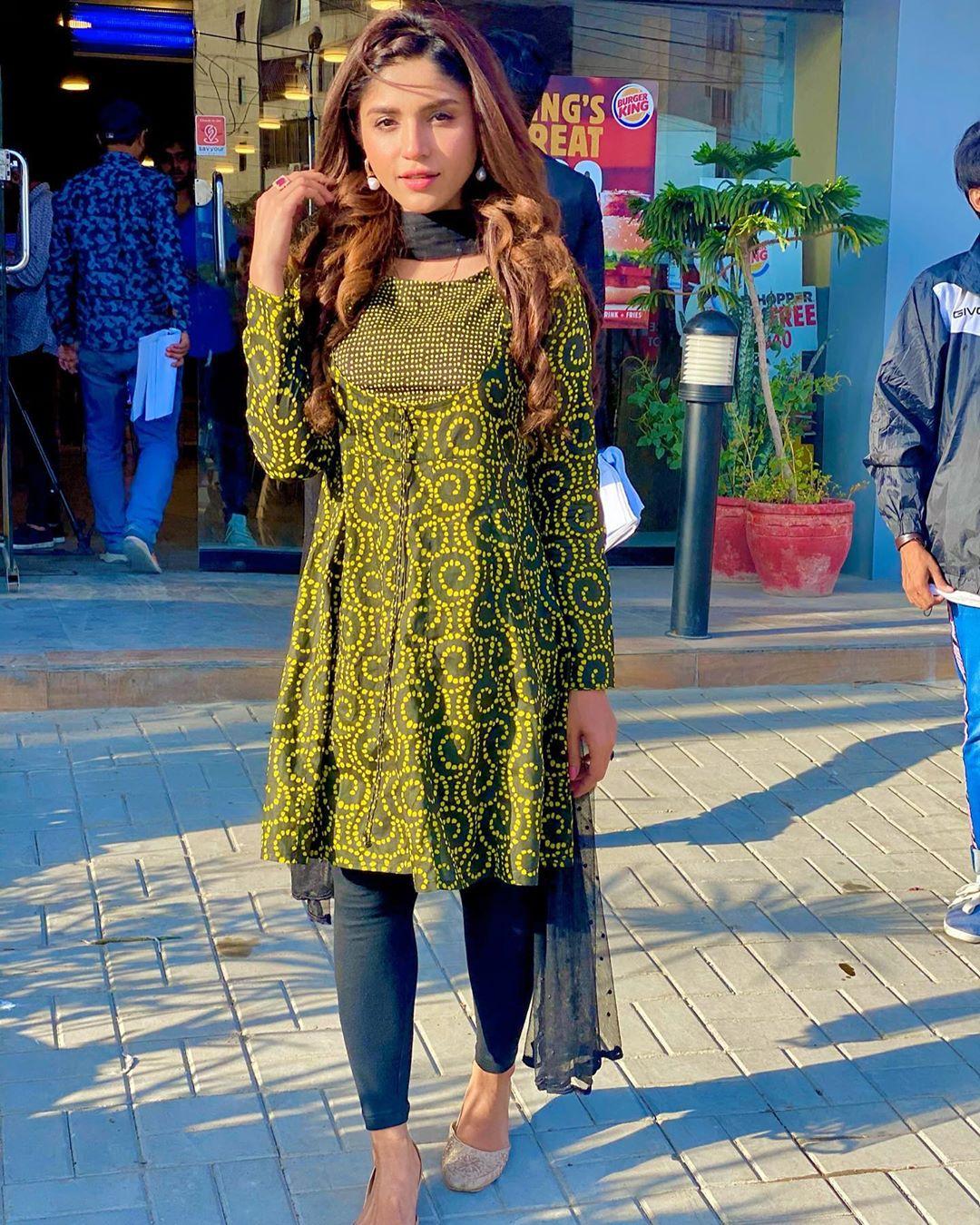 Amna Malick Clicks from Mera Dil Mera Dushman as Aiman