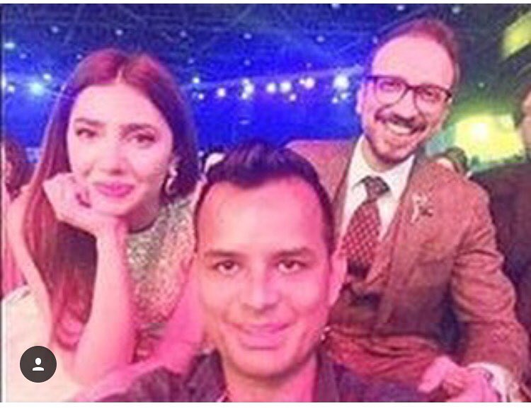 Pictures of Asim Raza With His Best Friends at Work