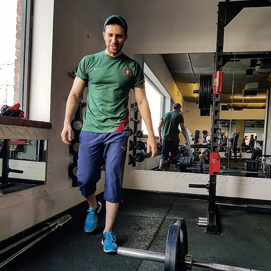 Emmad Irfani Fitness Goals are Real
