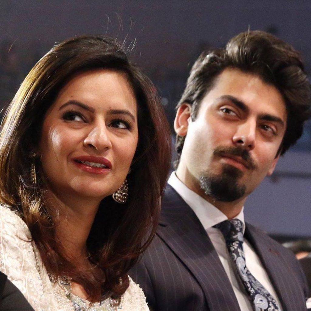 Latest Beautiful Pictures of Fawad Khan and Sadaf Fawad