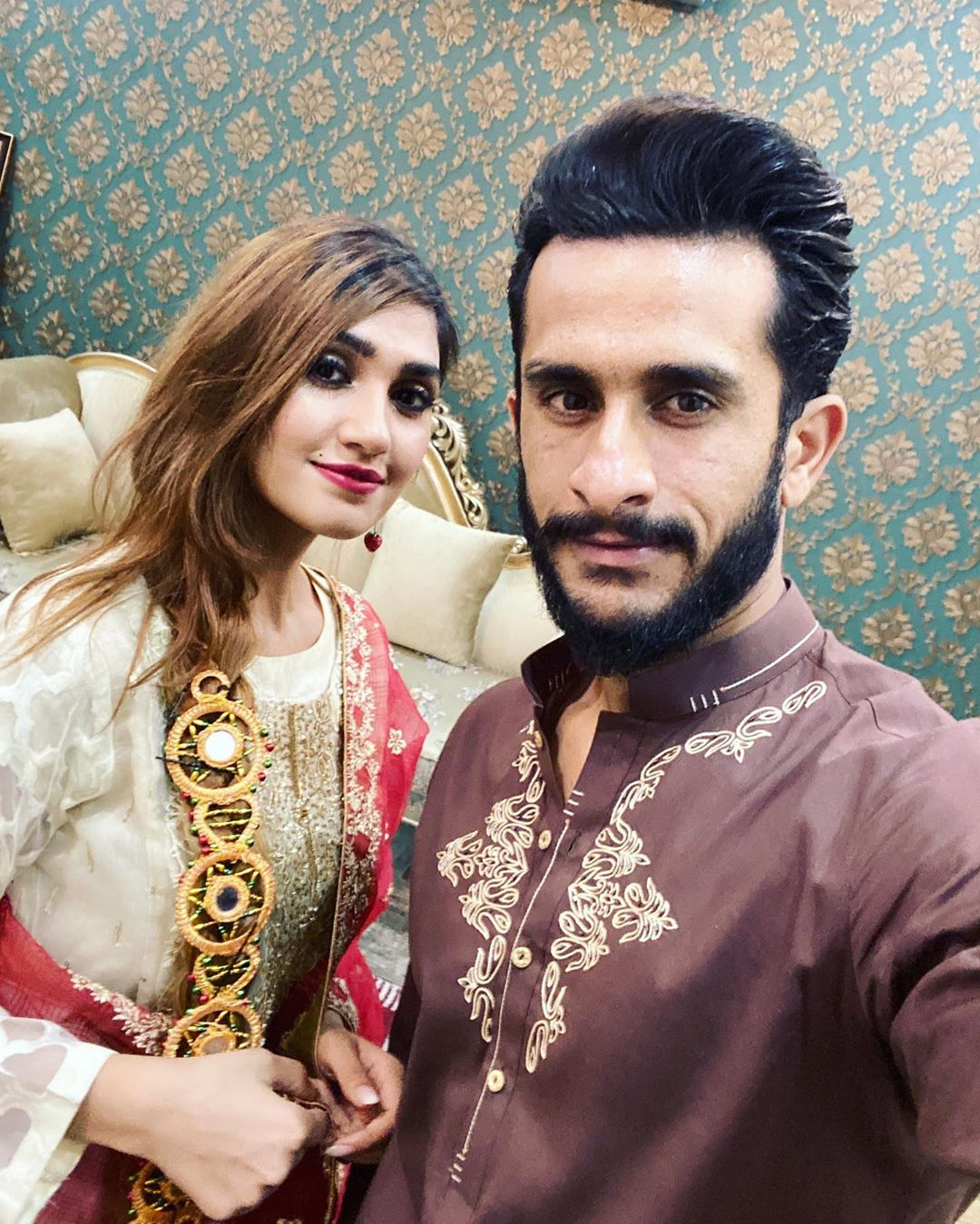Cricketer Hassan Ali Wife Samyah Khan Birthday Pictures