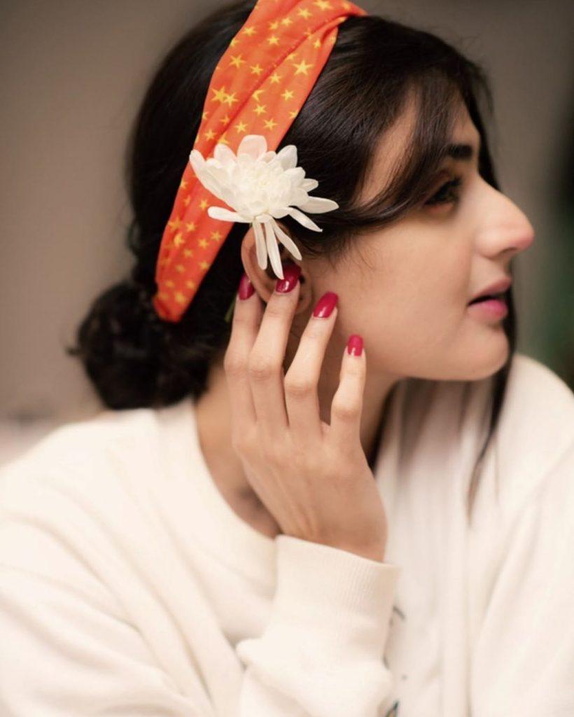 Cute Selfies of Hira Mani