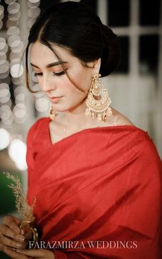 Saboor Aly or Iqra Aziz, Who Wore The Classic Red Saree Better?
