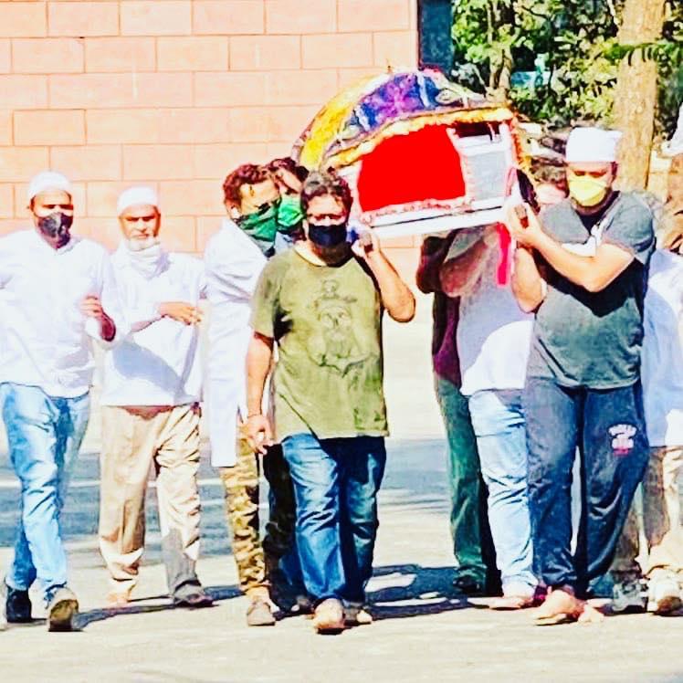 Irrfan Khan's Funeral