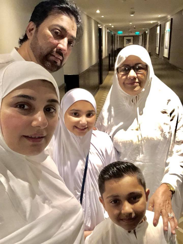 Actress Javeria Saud Shared Throwback Pictures of her Umrah with Family