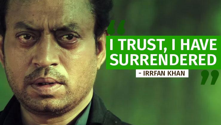Irrfan Khan Last Words