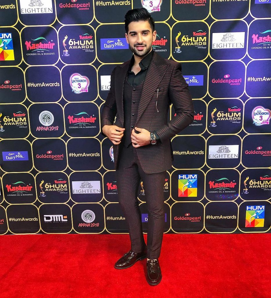 Pictures of Muneeb Butt in Formal Suits