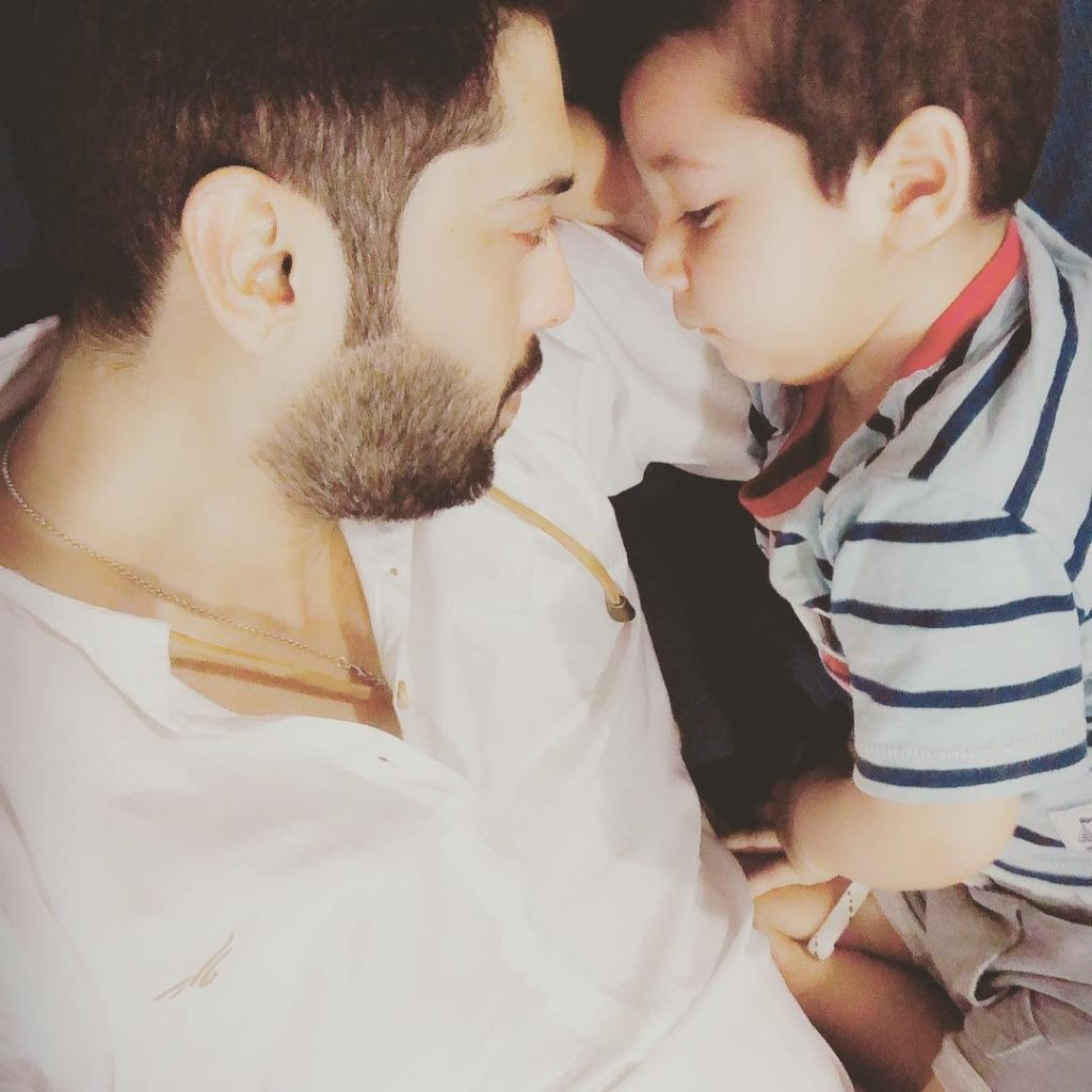 Exclusive Pictures of Fahad Mustafa with His Bacha Party
