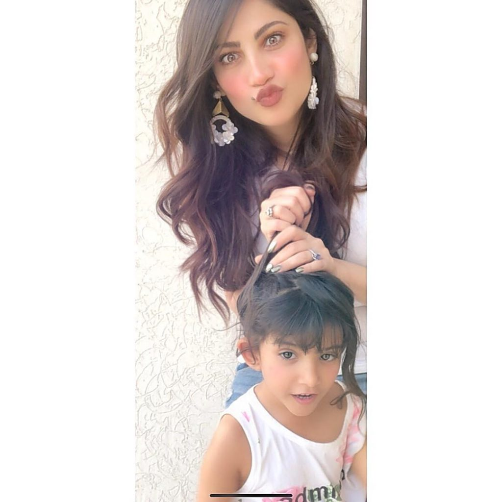 Gorgeous Pictures of Neelam Munir Taken at Her Home