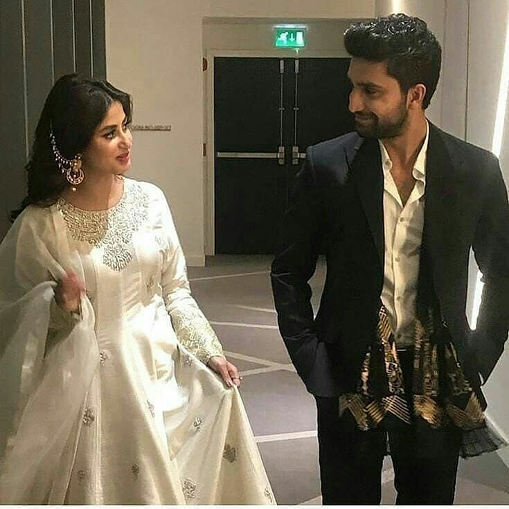 Cutest Pictures Of Our Favorite Ahad & Sajal Together