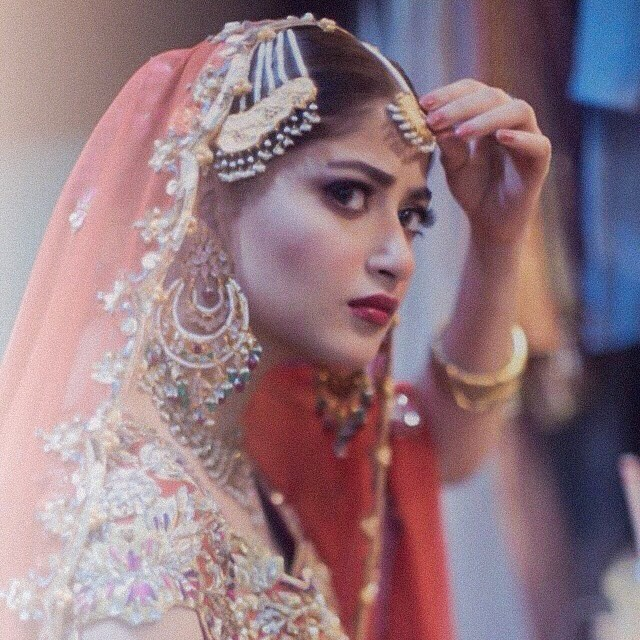 Beautiful Sajal Ali's Clicks From Her Bridal Photo Shoots