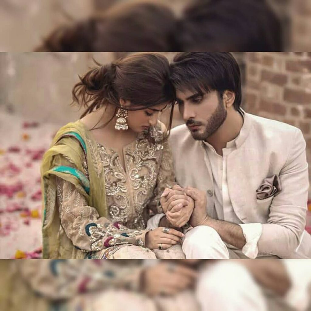 Sajal Aly Winks And Imran Abbas Loses His Heart
