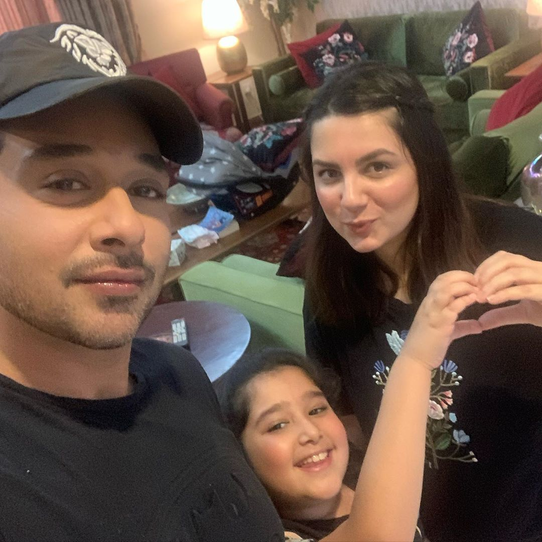 Faysal Qureshi Spending Quality Time with his Family in Lock Down
