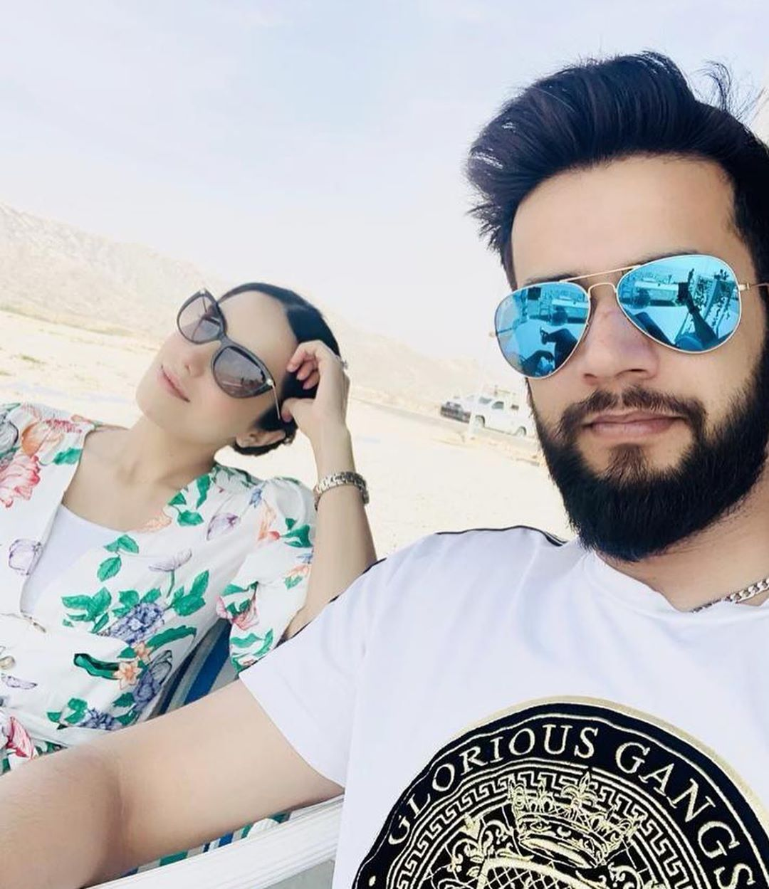 Cricketer Imad Wasim Latest Pictures with his Family