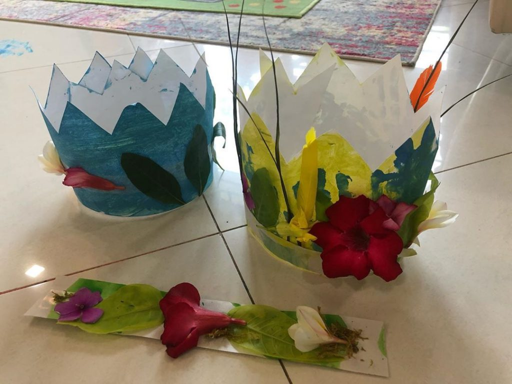 Creative Arts And Crafts Done By Sarwat Gilani and Her Kids