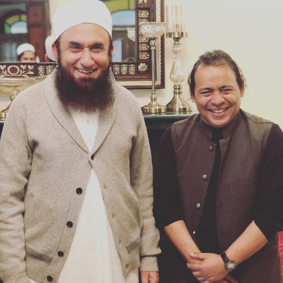 Maulana Tariq Jameel and his Celebrity Fans