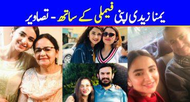 An Insight Into Yumna Zaidi's Family