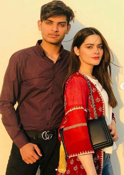 Aiman Khan Brother's Picture Goes Viral