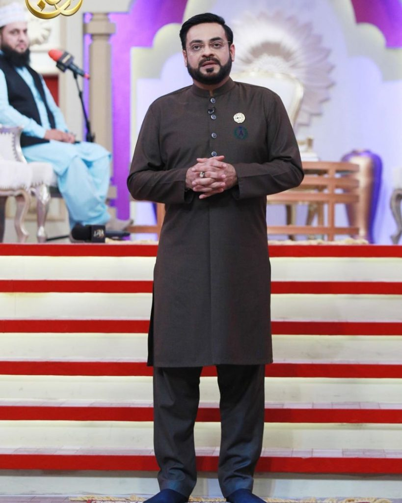 Aamir Liaquat Apologized For Inappropriate Jokes