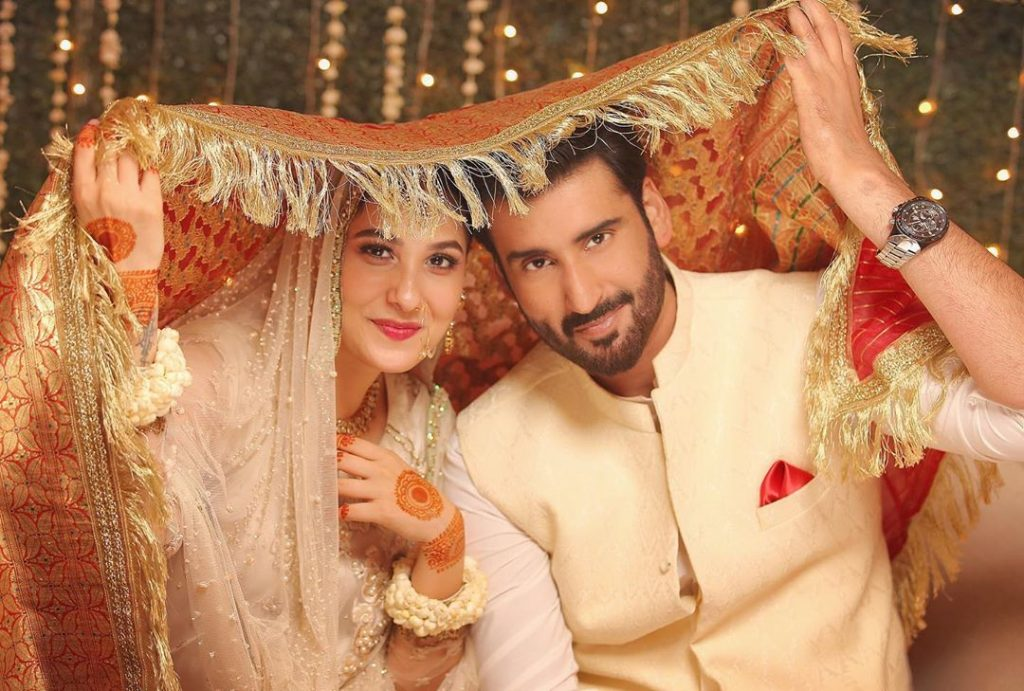 Agha Ali, Hina Altaf Has Message For Fans And Haters