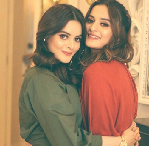 Minal Khan Talked About Competition With Aiman Khan