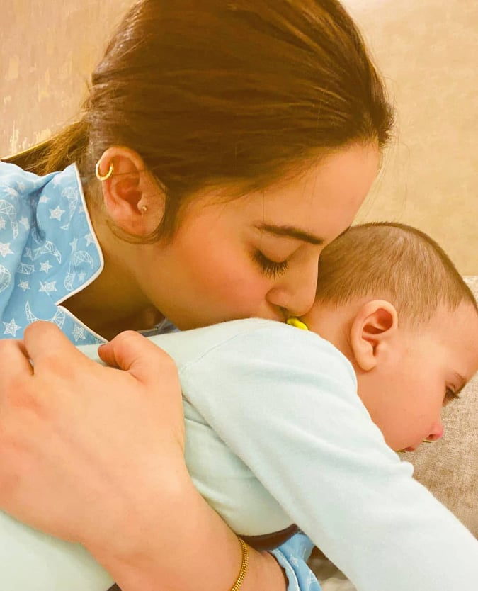 Amal Muneeb Aiman Khan's Daughter Latest Beautiful Pictures