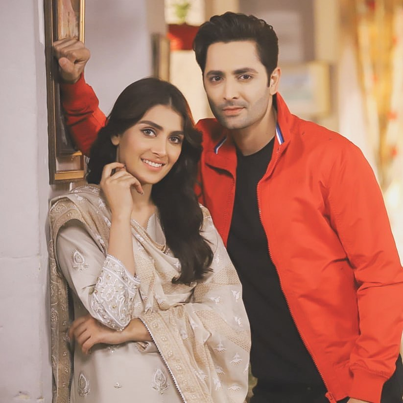 Ayeza Khan And Danish Taimoor New Beautiful Pictures