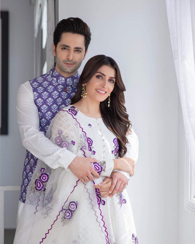 Question Answer Session With Ayeza Khan And Danish Taimoor