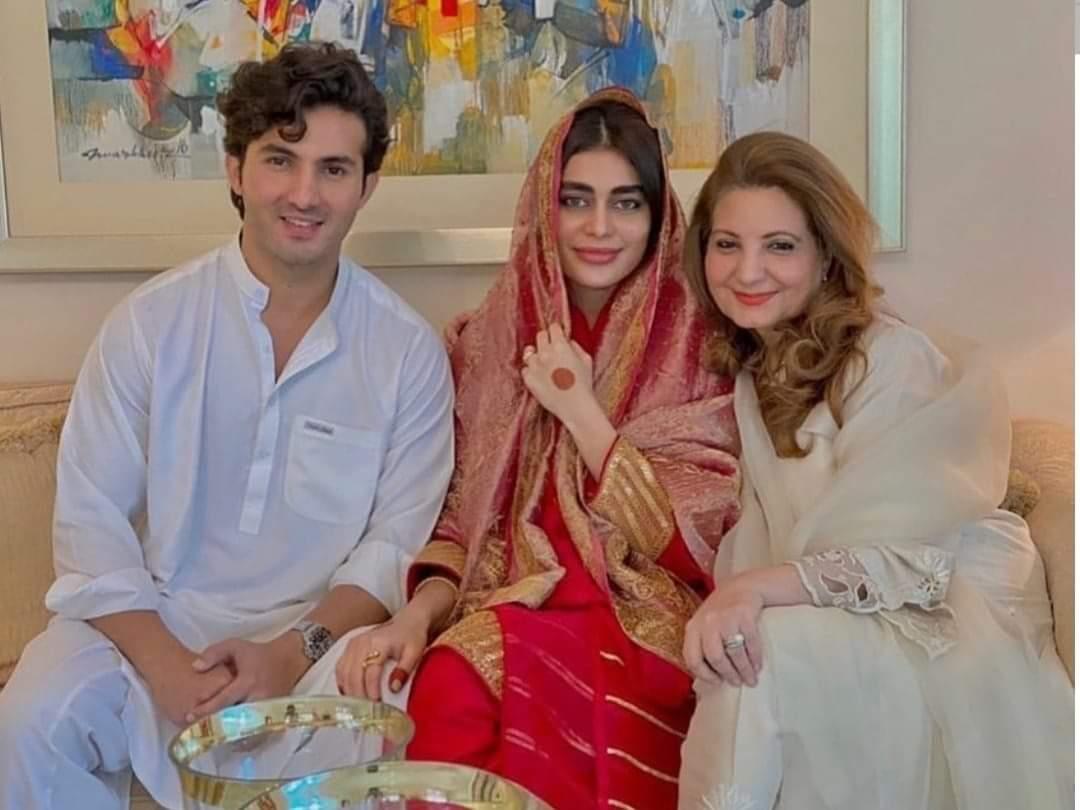 Shehroz and Sadaf Kanwal Nikkah - Some New Pictures