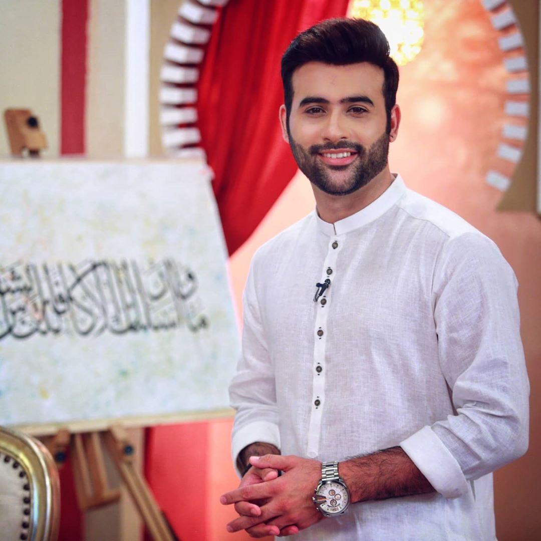 Faizan Sheikh and Maham Amir Beautiful Clicks from Ramazan Transmission