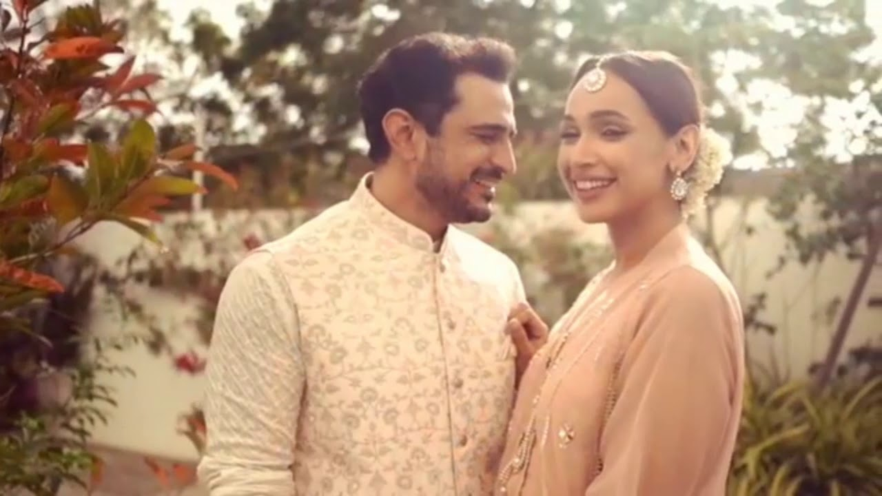 Faryal Mehmood tied the knot with Actor Daniyal Raheel - Wedding Pictures