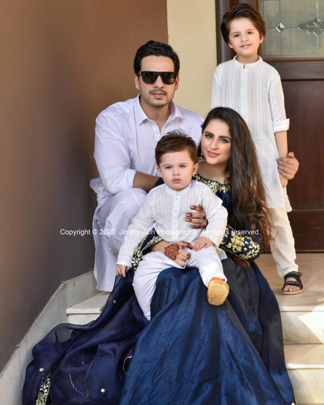 Fatima Effendi and Kanwar Arsalan Eid Pictures with Kids 10