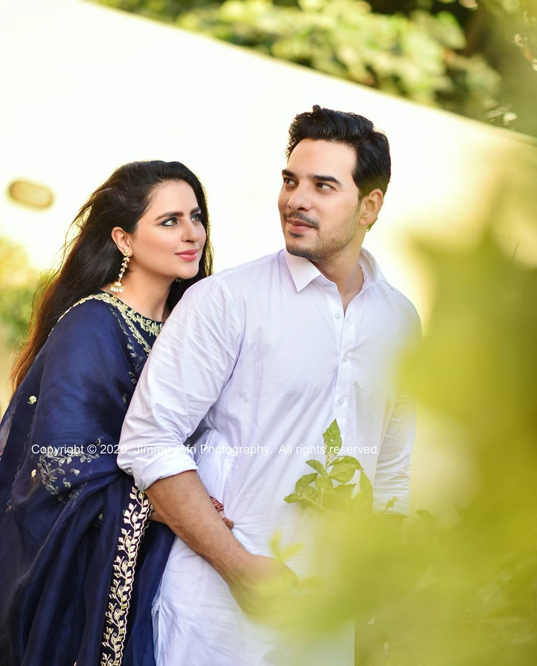 Fatima Effendi and Kanwar Arsalan Eid Pictures with Kids 11