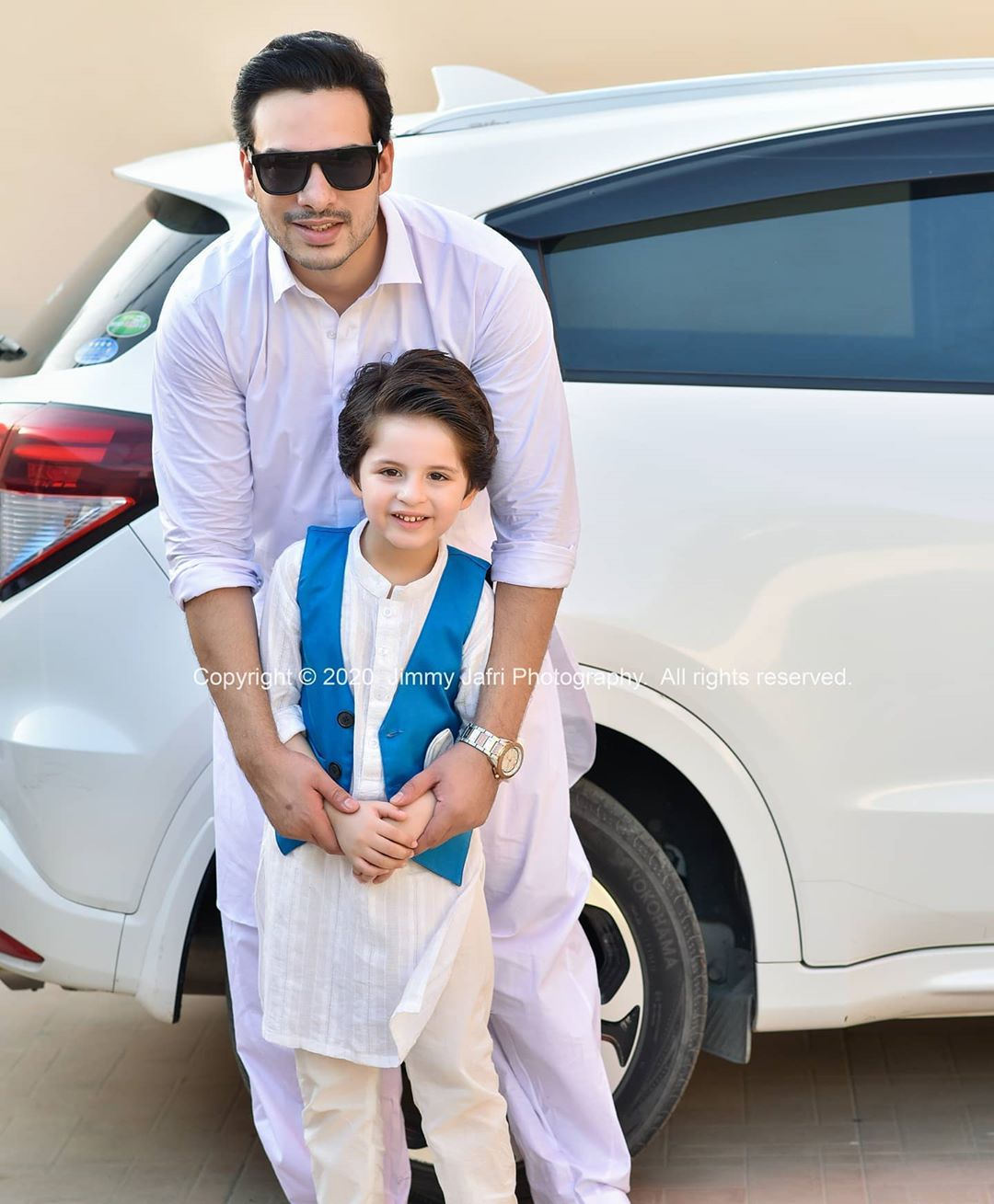 Fatima Effendi and Kanwar Arsalan Eid Pictures with Kids 13
