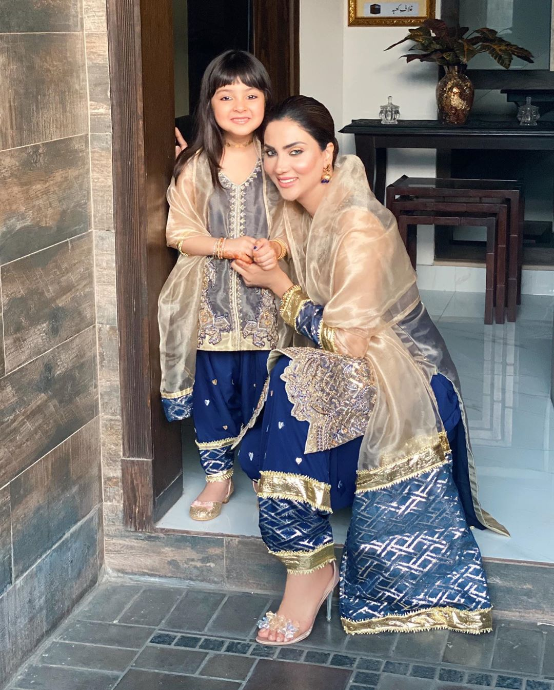 Actress Fiza Ali Eid Pictures with Her Cute Daughter