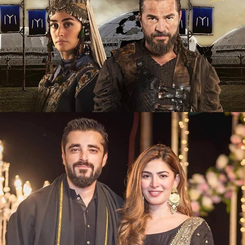 Hamza Ali Abbasi, Naimal Khawar Compared With Ertugrul And Halime