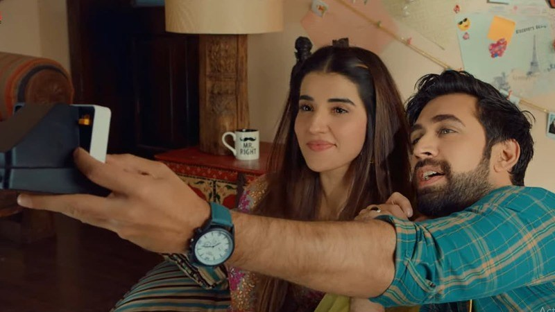 Hareem Farooq and Ali Rehman Khan fall in love in Heer Maan Jas newly released song