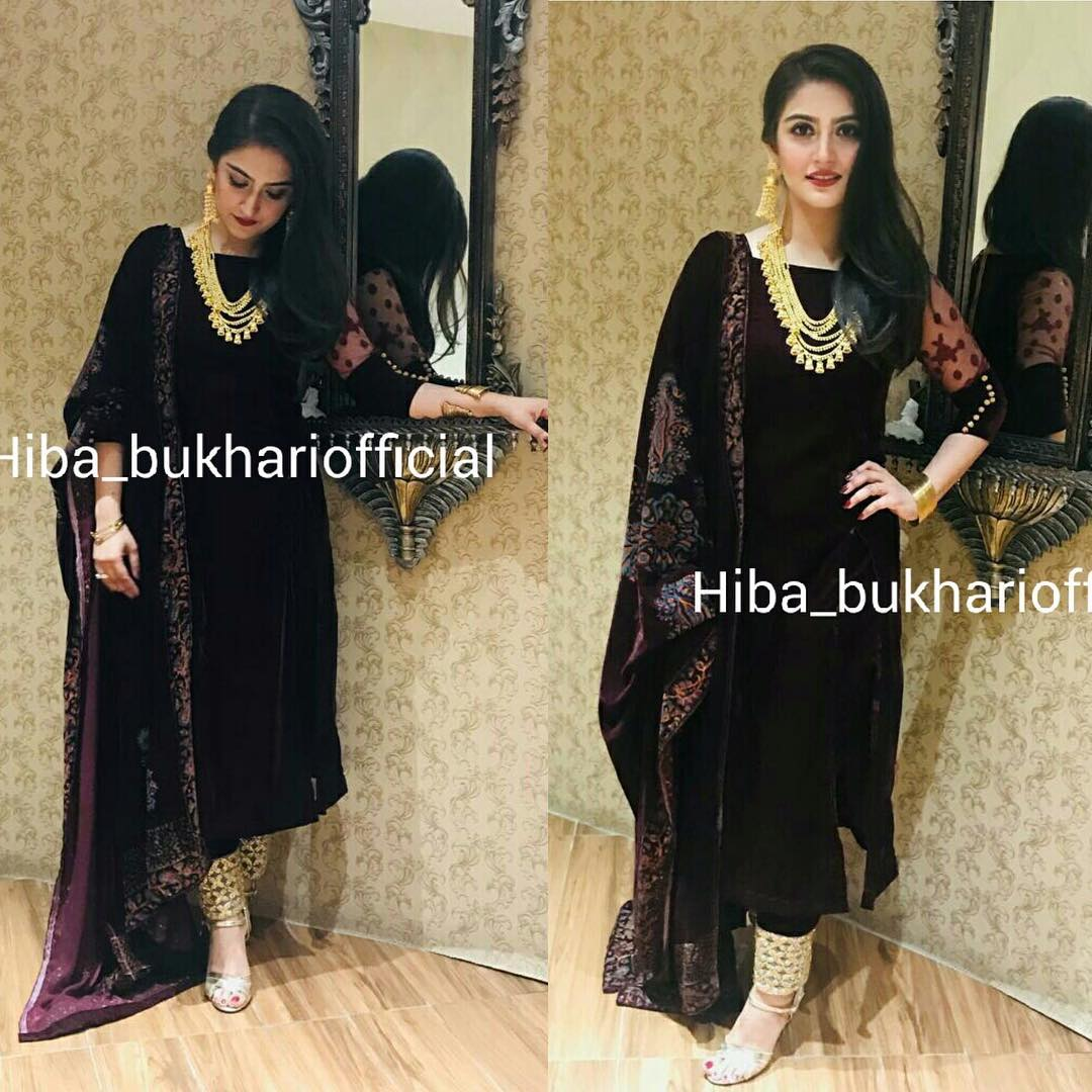 Latest Beautiful Pictures of Actress Hiba Bhukhari