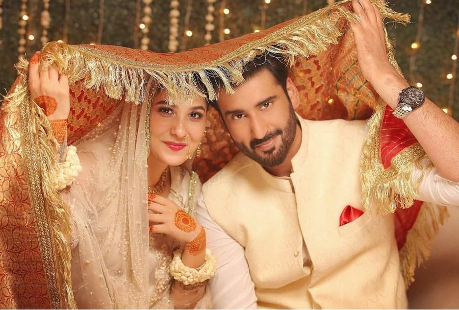 Cutest New Video Of Agha Ali And Hina Altaf