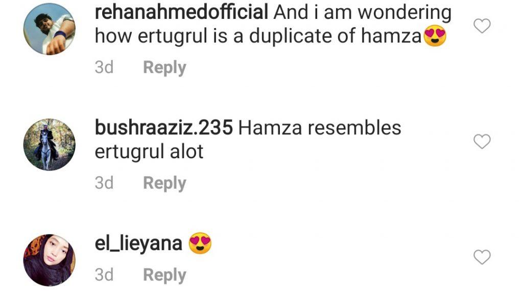 People Believes That Hamza Abbasi Is Ertugrul's Look Alike