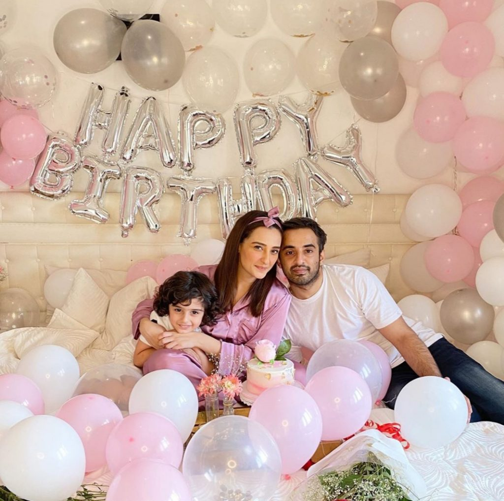 Beautiful Clicks From Momal Sheikh's Birthday