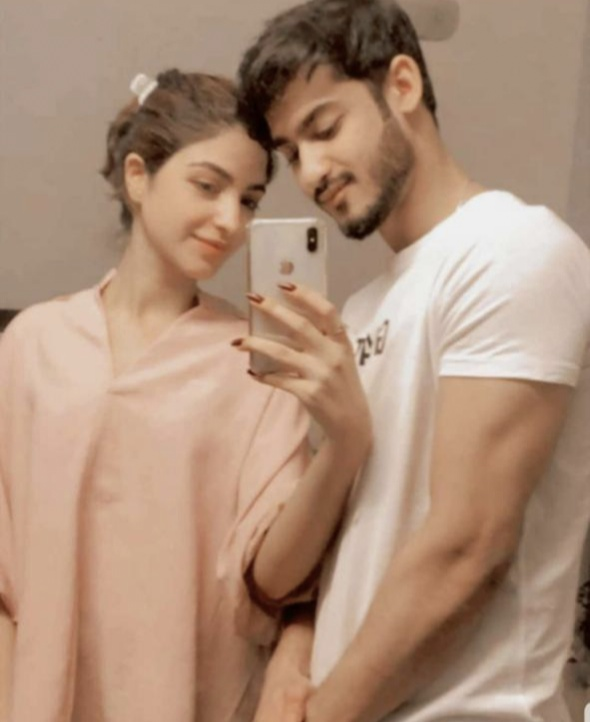 Kinza Hashmi And Sajal Aly's Younger Brother Pictured Together