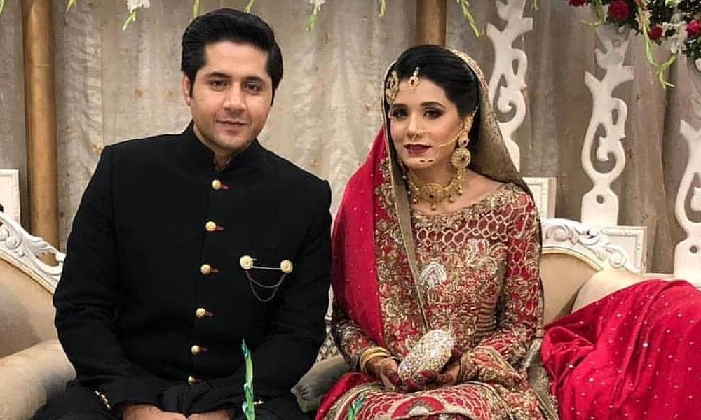 Imran Ashraf Celebrates Nikkah Anniversary With Wife
