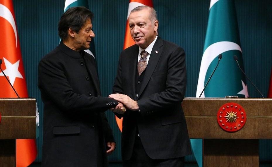 Imran Khan Tayyip Erdogan