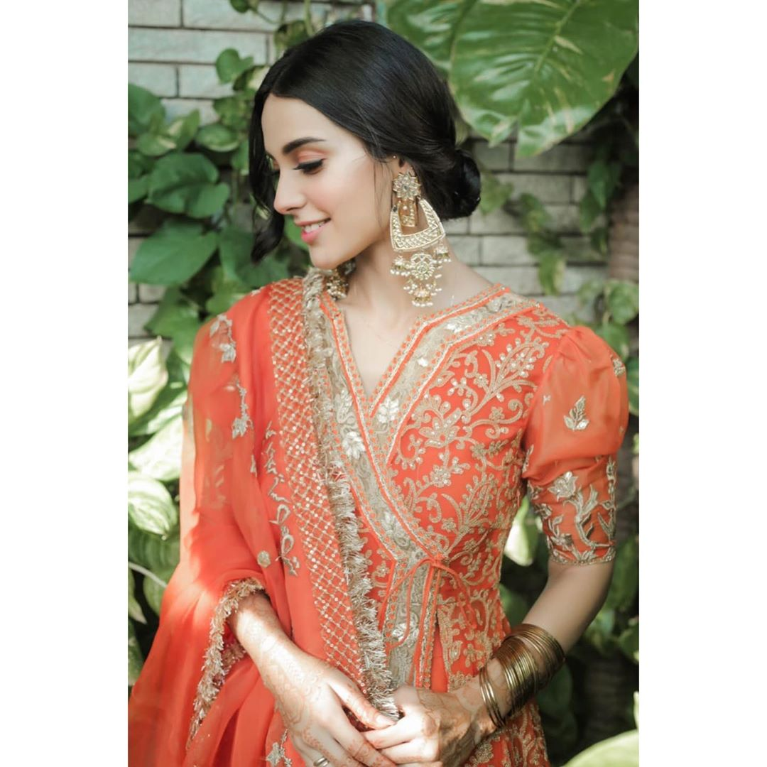 Iqra Aziz and Yasir Hussain Beautiful Eid Pictures